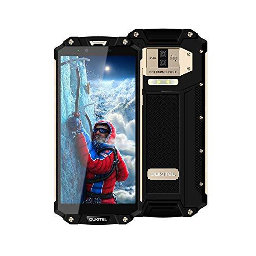 OUKITEL WP2-10000mAh Robusto Teléfono Moviles Libres IP68 Resistente al Polvo y Golpes,...