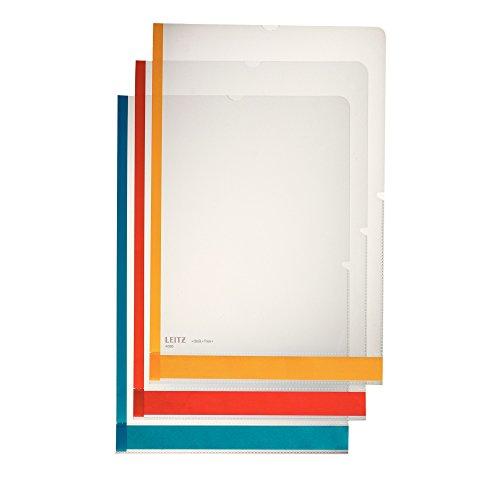 Leitz Desk Free 40803000 - Fundas de plástico transparente (A4, polipropileno, 6 unidades)