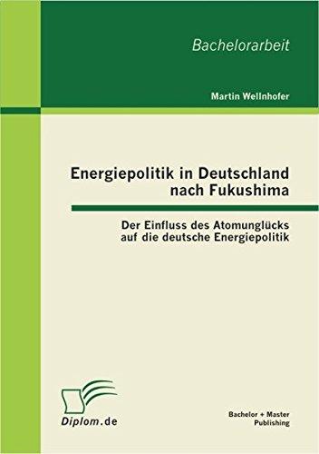 Energiepolitik in Deutschland nach Fukushima: Der Einfluss des Atomunglücks auf die deutsche Energiepolitik