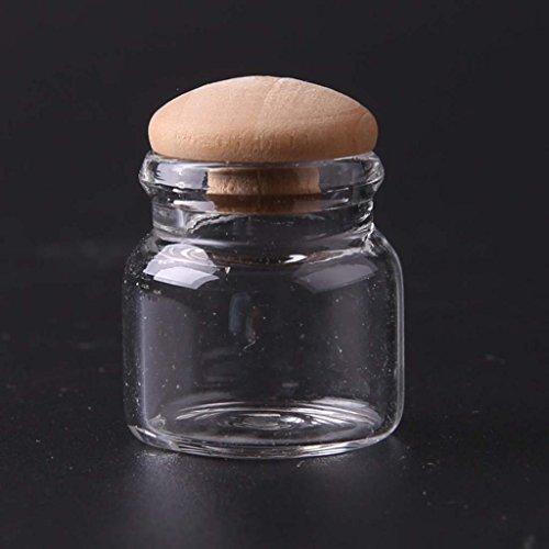 Generic Scala 1:12 Mini Candy Bar Decorazione Cucina Vasetto Casa per Bambole, 4 Pezzi