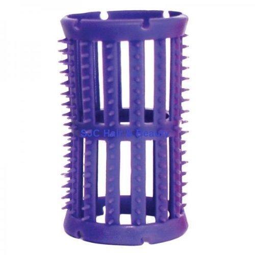 SKELOX Plastik Lockenwickler/ Lockenwickler 12 x 36mm Lilac + Free Pins!