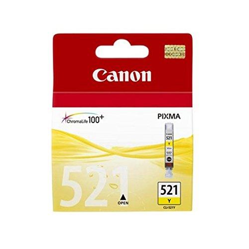 Canon - CLI-521Y - Cartouche d'Encre d'Origine - Jaune
