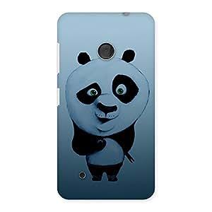 Cute Panda Puzzled Multicolor Back Case Cover for Lumia 530
