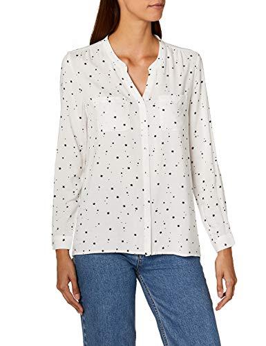 ONLY Damen onlFIRST LS Pocket AOP Shirt NOOS WVN Bluse, Mehrfarbig (Cloud Dancer Starshine), 36 -