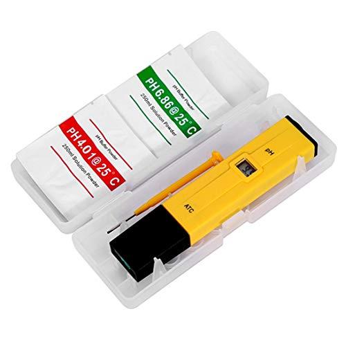 Swiftswan Handheld-Digitalanzeige PH-Tester Aquarium Pool SPA Wasserqualitätsmonitor Reinheitstester Werkzeuge zur Prüfung des PH-Niveaus