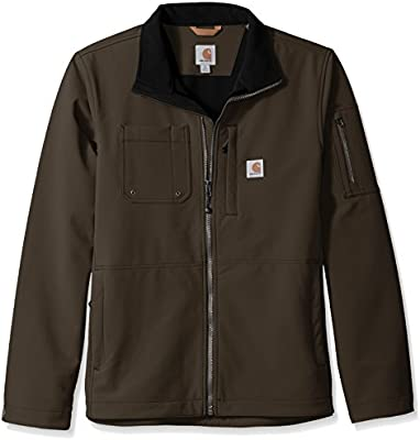 Carhartt Big and Tall Big & Tall Rough Cut - Chaqueta para Hombre - Marrón - X-Large Tall