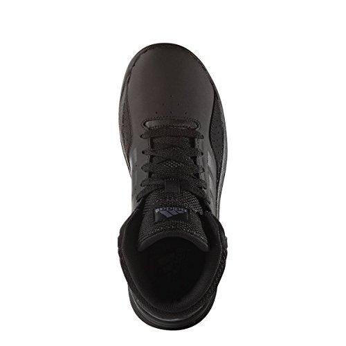 adidas Kinder-Unisex Cloudfoam Ilation Mid K Basketballschuhe Mehrfarbig