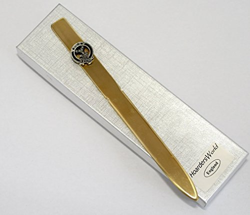 Scottish Clan Gordon Wappen Brieföffner (Papier Messer), handgefertigt, in Geschenkverpackung Gordon Messer