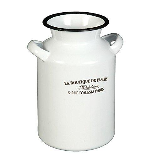 Ambiente Haus 51218 Vase 20 cm emailliert Antike Krüge