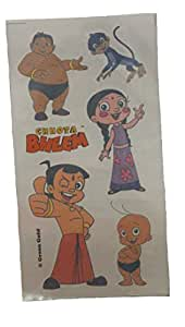 Chhota Bheem Tattoo Sheets - 5 Sheets