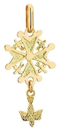 lucas-lucor-p807-pendentif-mixte-or-18k-jaune-croix-huguenote-protestante