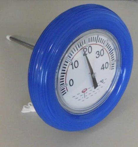 Pool Schwimmbad Thermometer Temperaturanzeige Boje Zubehör #102250