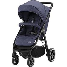 Britax Römer B-Agile M Stroller Pushchair, Birth to 4 Years (22kg), Navy Ink