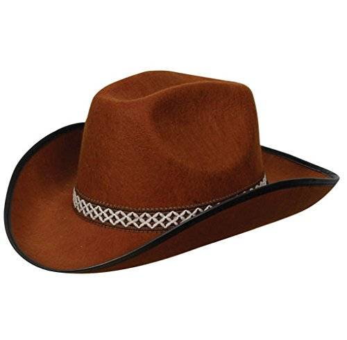 Cowboy Hat Rodeo Wild West Unisex Fancy Dress Accessory - Kleinkind Wild West Cowboy Kostüm