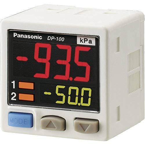 Panasonic Drucksensor 1 St. DP-102A-E-P -1 bar bis 10 bar Kabel, offenes Ende (L x B x H) 42.5 x 30 x 30 mm