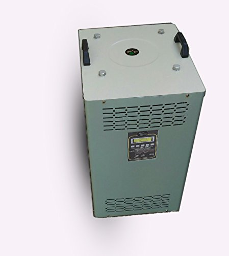 Servo Voltage Stabilizer 7.5kva, Single Phase With Lcd (green Dot)