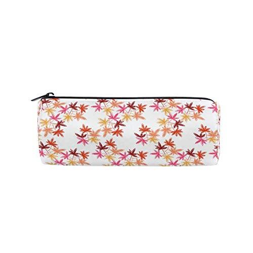 Pencil Case Avocado Kiwi Papaya School Pen Pouch Office Zippered Pencil Cases Holder Women Makeup Bag