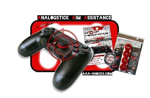 """AAA-Shocks (Analogstick Aim Assistance Stossdämpfer Zielhilfe für FPS Spiele): Spezial Edition """"bloody bros"""" PlayStation 4"""
