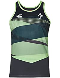 Canterbury Ireland Official 17/18 Men's Rugby Vapodri Poly Singlet Vest