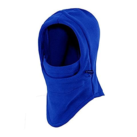 Ezyoutdoor Hat Cap Winter Thermal FLEECE Swat Ski Neck Hoods Full Face Mask Cover for Riding Cycling Hunting Fishing Walking Outdoor Sports