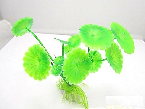 herbe usine d'eau XJoel de l'eau de simulation de décoration en plastique aquarium décor végétal