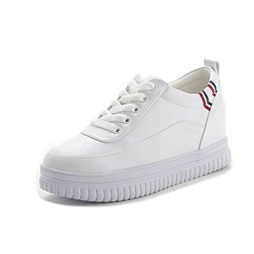 Damen Schuhe Sneakers Sportschuhe Turnschuhe Klassische Low Top Weiß
