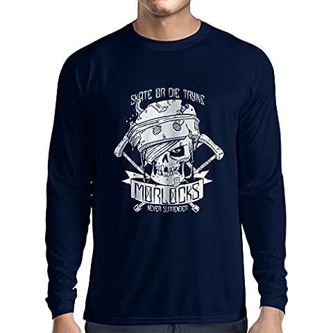 N4605L Camiseta de manga larga Skate or Die Trying