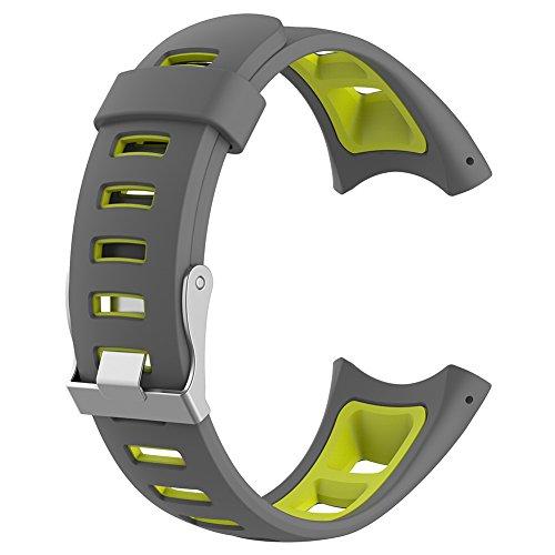 Broadroot Sport weiches Silikon-Armband Smart Watch Strap Band Ersatz für Suunto Quest M1 M2 M4 M5 (03)
