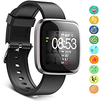 FOSUN N1 Reloj Inteligente, Fitness Tracker Smart Watch IP68 ...