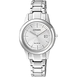 Citizen Damen-Armbanduhr XS Analog Quarz Edelstahl FE1081-59A