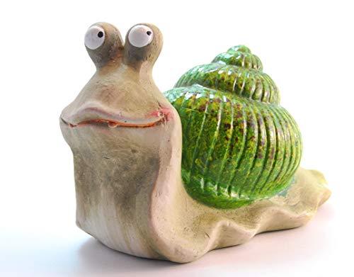 Goldbach Schnecke Sally Keramik Deko Garten Aussendeko Gartendeko Figur Tiere Gartenzwerg