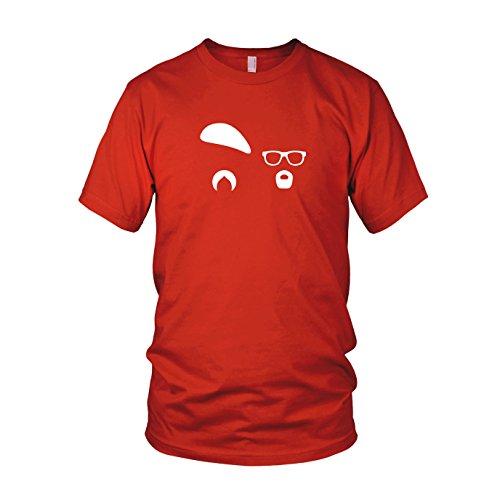 Busters - Herren T-Shirt Rot