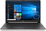 2020 HP 15.6-inch HD WLED Touchscreen Laptop, 10th Gen Intel Core i7-1065G7 up to 3.9GHz, 8GB DDR4, 512GB SSD,