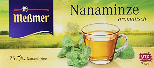 Meßmer Nanaminze, 6er Pack (6 x 44 g) (Tee Marokkanische Minze)