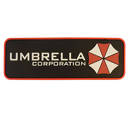 UMBRELLA CORPORATION RESIDENT EVIL COSPLAY PVC RUBBER 3D VELCRO PATCH