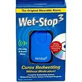 Alarma húmedo Stop3 azul Enuresis La enuresis con el sonido y la vibración cama monitor para Bedwetters: orinal formación de niños y niños: cama Reloj de humectación para los muchachos o muchachas