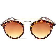 Gafas de sol Mujer Hombre Gafas de sol Patrón de tigre marrón Deluxe Men Womn sun-glasses Brown CE UV400Tiger Tema 5189
