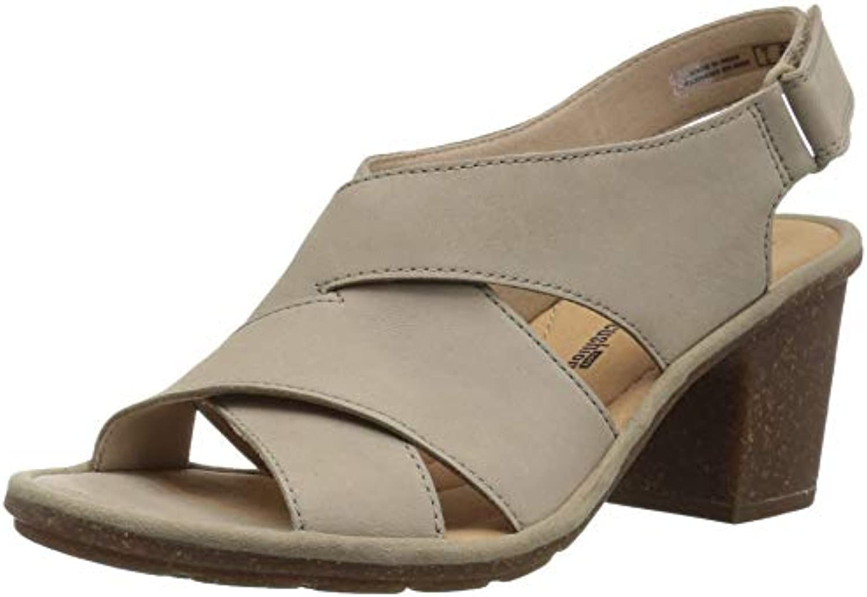 Clarks Wouomo Sashlin Nolte Heeled Sandal, Sand Nubuck, 8.5 Medium US | Imballaggio elegante e stabile  | Scolaro/Signora Scarpa