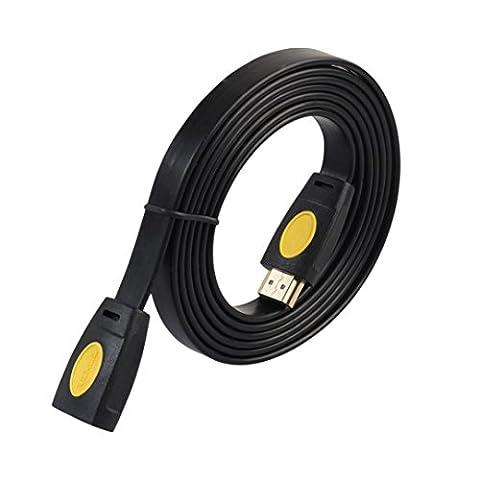 Byste Plaqué or 4K 3d1080p HDMI Rallonge de câble d