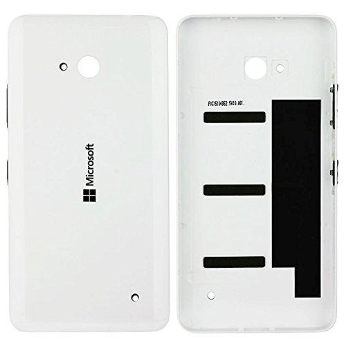 Original Microsoft Akkudeckel white / weiß für Microsoft Lumia 640 (Akkufachdeckel, Batterieabdeckung, Rückseite, Back-Cover) - 02509H7