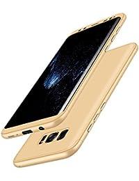 Qissy® Carcasa Samsung Galaxy S8 Plus ,3 in 1 Todo incluido Anti-Scratch Ultra Slim Protective 360 PC Case Cover para Samsung Galaxy S8 +