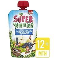 Yummies Súper Manzana Y Frutas Del Bosque 100 G De Yogur - Paquete de 6