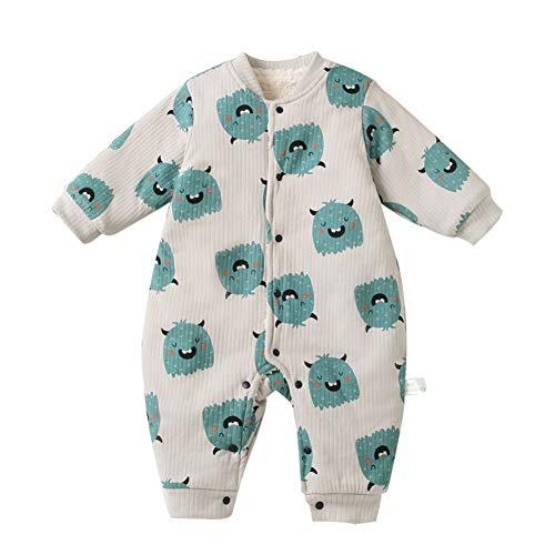 Blaward Kleinkind Baby Bodys Baumwolle niedlichen Tier Strampler verdicken Overall 0-15Month Bekleidungssets Baby Schneeanzüge