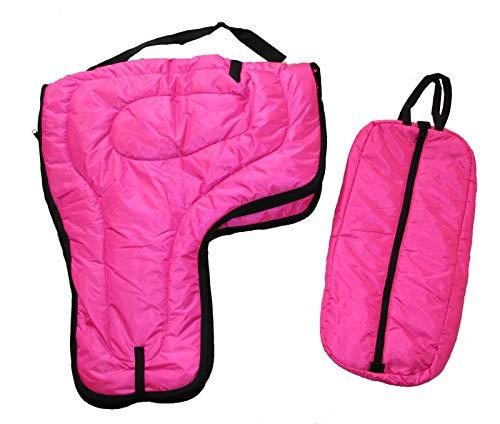 Carrier und Brautschmuck Halfter Tasche großes Gepolstertes Set, hot pink ()