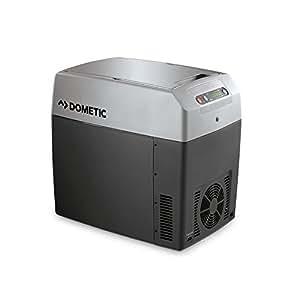 DOMETIC TC21 Glacière électrique portable, 20L, 12-24V/230V, 30°C en dessous de la température ambiante, chauffage jusqu'à +65°C, p450xh420xl303mm, Norme FR, [Classe énergétique A++]