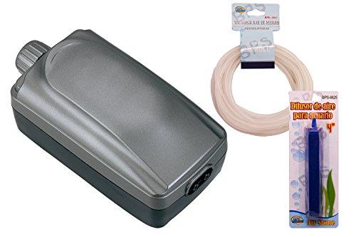 BPS R Bomba Aire, Oxigenador Compresor Doble Salida