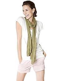 Jersey Seidenschal 100% Seide - 70 x 200cm - 18 Farben Schal