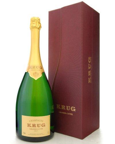 Krug Grande Cuvee Champagner mit Box 1,5 Liter 12{c3c6eb23aea787384402c79f72c25c780102d08f1a553a5064b149a19de855f8} France