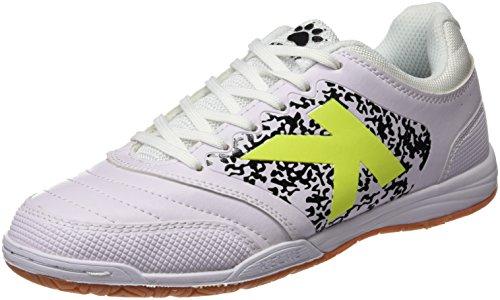 Kelme Uomo Subito 3.0 Scarpe da calcetto indoor Bianco Size: 43