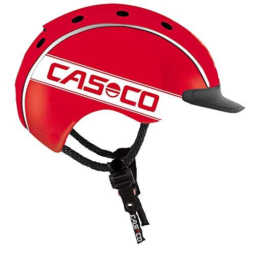 Casco Mini 2 rot Logo - Kinderfahrradhelm